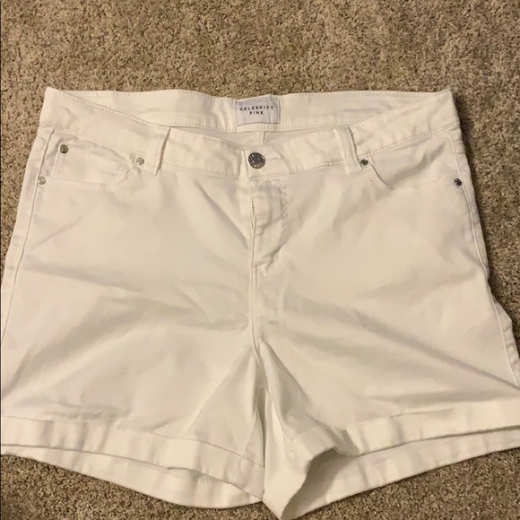 Celebrity Pink Pants - Like new! Only worn once! White jean short